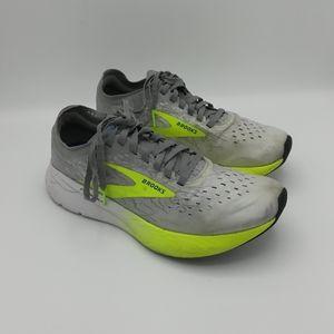 Brooks Womens Hyperion Elite Gray Running Shoes